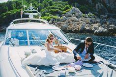 Intimate Mallorca Wedding on a Boat