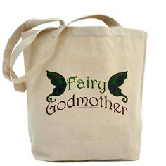 Fairy Godmother Tote Bag by - CafePress Fairy Godmother, My Happy Place, Canvas Tote Bags, Reusable Tote Bags, Disney, Fabric, Accessories, Clothes, Tejido