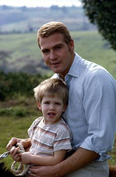 Lee Majors with son, Lee Jr. His son should be used for ...
