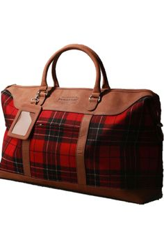 Really like this Pendleton Plaid Weekender Bag