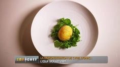 Oeuf mollet frit Cyril Lignac