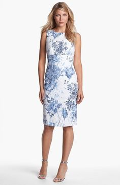 Wedding guest style. Santorelli 'Luna 1' Dress available at #Nordstrom
