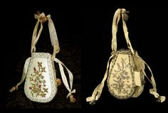 Replica left, original, right. Wonderful sewing bag from Colonial ...