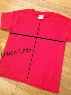 HTV Shirt Decal Placement and Size Tips and Resources ~ Silhouette School