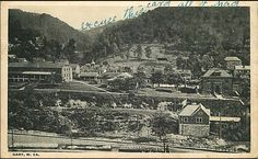 Gary, West Virginia postcard. Originally pinned by W Rivers onto McDowell County, West Virginia.