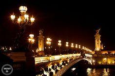 Streets of Paris Fine Art Photography Pont Alexandre door Bright35, $12.50