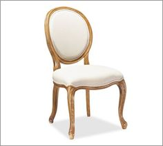love this Louis Chair - very classic and clean- need 4 and maybe note in white with a puppy and new baby on the way