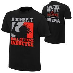 Booker T Hall of Fame T-Shirt  $19.99