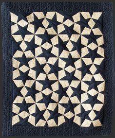Estrellas Escher @ https://www.flickr.com/photos/artepatchwork/4457053593/ ; CLM: pattern for quilt (in diff colors) @ http://www.liesbosquilts.nl/patronen/pat99kosm01E.html