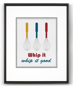 Take a look at this White 'Whip it Good' Print on zulily today!