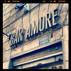 bar Amore, Rome.