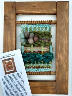 Mini Tapestry Weaving Kit Natural Learn to Weave Tapestry