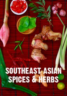 A guide to the essential spices & herbs of Southeast Asian cooking