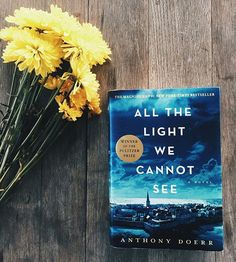 "Just started reading ""All The Light We Cannot See"" by Anthony Doerr and can't put it down!"