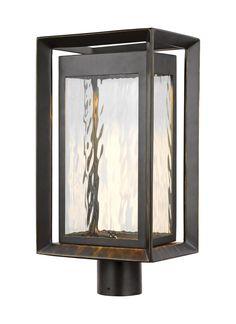 OL13707ANBZ-L1,1 - Light Outdoor LED Post Lantern,Antique Bronze