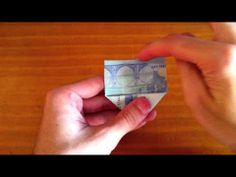 Corazon Con Un Billete - Tutorial Para Hacerlo - YouTube