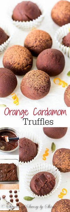 Bursting with unusual, yet delicate flavors, these dark chocolate orange cardamom truffles are smooth-as-silk and simply irresistible. Best of all, it takes minutes to make!!
