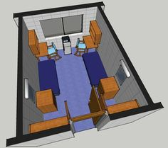 Donner room layout