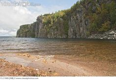 ontario outdoors park provincial park rock face scenic travel water