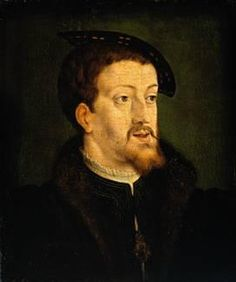 Charles V, Holy Roman Emperor. What a thorn in the side this man was to Henry VIII.