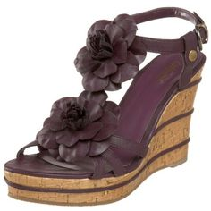 Amazon.com: Wanted Shoes Women's Daisy Wedge Sandal: Shoes