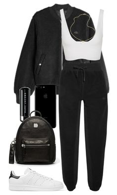 """""""Untitled #545"""" by naomiariel ❤ liked on Polyvore featuring adidas Originals, Cushnie Et Ochs, Jennifer Zeuner, Marc Jacobs and MCM"""
