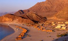 Basata Ecolodge, Egypt along Sinai coast. Eco friendly with boho spirit. (2006)