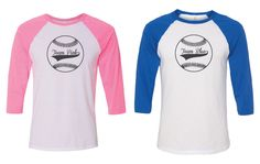 Gender Reveal Shirts. Mommy and Daddy Shirts. Custom Mommy Daddy Baseball Shirt. Mommy Shirt. Gender Reveal Baseball. Team Blue Team Pink.  Gender Reveal Baseball 3/4 Sleeve T-Shirts. Mommy and Daddy Baseball 3/4 T-Shirts. Purchase includes 1 Mommy and 1 Daddy baseball tee Bella/Canvas brand Unisex Semi-fitted Shirt, 3.6 oz 52% Combed and Ringspun Cotton, 48% Polyester Direct to garment printed for soft wearable feel   Care Instructions: This item may be machine washed, but we recommend line…