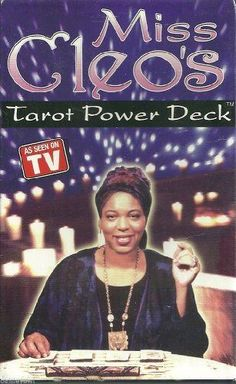 Each deck contains 78 cards influenced by Tarot Shaman Miss Cleo. With 22 Major Arcana and 56 Minor Arcana, these cards will enable those who master them to embark on a journey of self-discovery while glimpsing into the future! Each card measures x Tarot Cards Amazon, Best Tarot Decks, Leo Tarot, Power Tv, Call Me Now, The Hierophant, Cool Deck, Cartomancy, Major Arcana