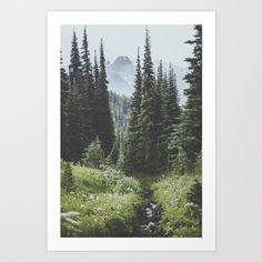 Society6 art by Luke Gram | Collect your choice of gallery quality Giclée, or fine art prints custom trimmed by hand in a variety of sizes with a white border for framing.