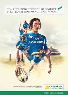 Cariparma - 2012 Six Nations Rugby by Andy Cornacchia, via Behance
