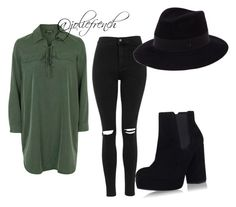 """""""Untitled #24"""" by marlene-helene on Polyvore featuring Topshop and Maison Michel"""