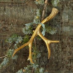 Cast Decorative Antler in HOLIDAY Décor + Accents at Terrain