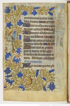 Horae ad usum parisiensem [dites Heures de Jeanne de France ] .   Gallica