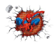 Wall Stickers Cool Bedrooms 46 Ideas For 2019 Wall Stickers Cool, Wall Decals, Wallpaper Spider Man, Spiderman Kids, Marvel, Cute Home Decor, Vinyl Art, Cool Walls, Room Decor