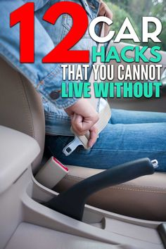 12 car organization hacks that will keep your car organized and free of clutter! Car Life Hacks, Car Facts, Car Cleaning Hacks, Organization Hacks, Housekeeping, Computer Tips, Social Media, Car Stuff, Clutter