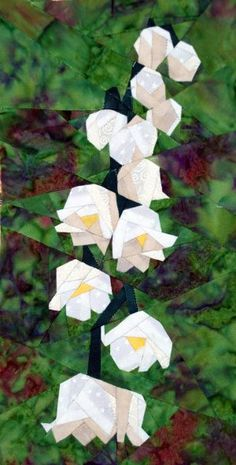 silver linings quilting pattern lily of the valley