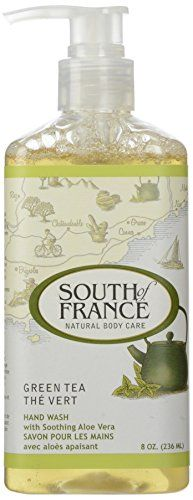 South Of France Hand Wash Green Tea 8 Oz >>> See this great product. (Note:Amazon affiliate link)