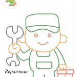 Repairman coloring pagesRepairman coloring pages
