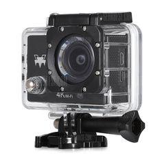 🏷️🐼 Q6 WiFi 4K Ultra HD Action Sport Camera-BLACK - 26.26€      #BonsPlans, #Deals, #Discount, #Gearbest, #Promotions, #Q6, #Réduc