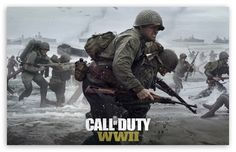 Call of Duty WWII 2017 Video Game wallpaper