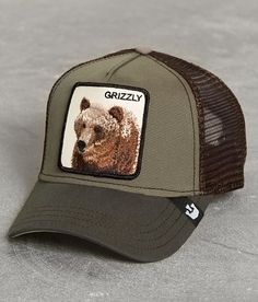 Goorin Brothers Grizz Trucker Hat - Men s Hats in Olive  e66c211d17be