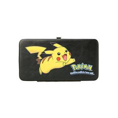 Pokemon Pikachu Hinge Wallet | Hot Topic ($17) ❤ liked on Polyvore featuring bags, wallets, pokemon, pocket wallet, clear wallet, pocket bag, clear bags and credit card holder wallet