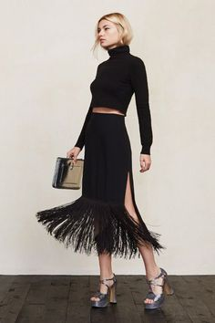 """This fringe will come alive during the obligatory """"Shake It Off"""" dance interlude. #refinery29 http://www.refinery29.com/2014/12/79197/the-reformation-new-years-eve-collection#slide-8"""
