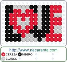 LOVE en CUENTAS HAMA BEADS, Perler Bead Patterns