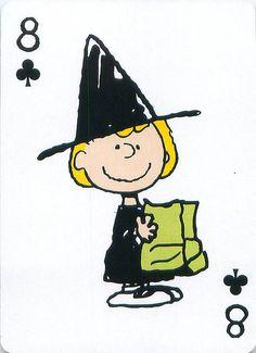 https://flic.kr/p/dd2Aej | Peanuts Great Pumpkin Playing Cards | From the Peanuts Great Pumpkin card deck set.