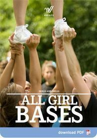 cheer quotes As a girl base, do you feel like it takes longer to master a stunt than it should? Are you using your back when you stunt? Are your wrists and grips in the incorrect position Easy Cheerleading Stunts, Cool Cheer Stunts, Cheerleading Exercises, Cheer Coaches, Cheer Mom, Cheer Stuff, Cheer Tips, Cheer Hair, Cheer Routines