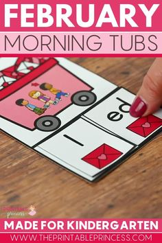 This resource includes 21 literacy and math activities with an adorable Valentine's theme. The activities make the perfect kindergarten morning tubs that are easy to prep, allow for differentiation, interactive, hands-on activities to keep students engaged and learning all month long.