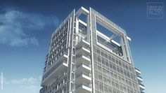 Meier on Rothschild residential tower by luxury appartments, via Flickr