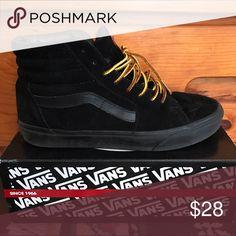 Vans Sk8 Hi Lace swapped. Great shape Vans Shoes Sneakers